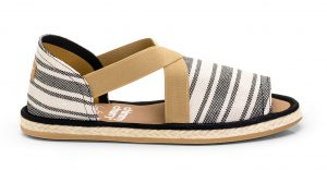 Fit Sandal Rustic Striped