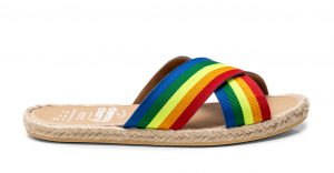 Sandalia Cross Rainbow