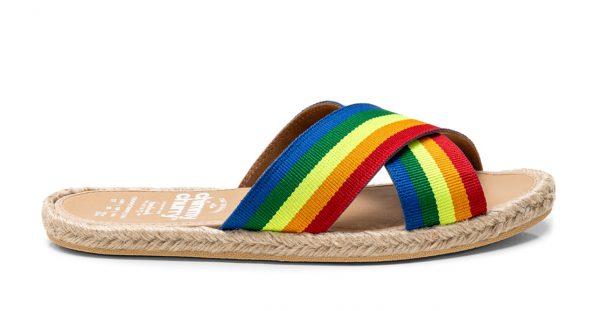Sandalia Cross Rainbow