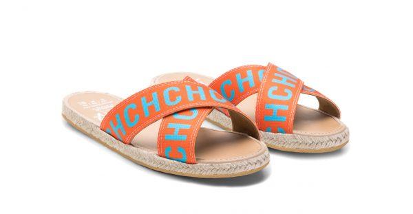Sandalia Cross CH Orange